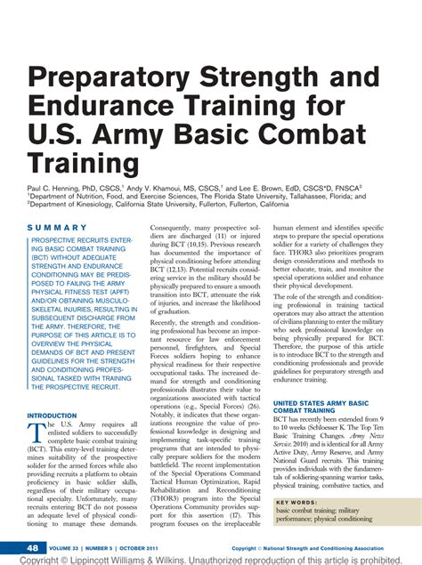 50 things to about coaching coaching todayã s preparatory strength and endurance for u s army