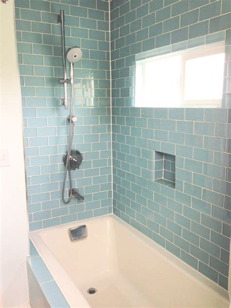 bathroom tile outlet glass subway tile bathrooms by subwaytileoutlet com