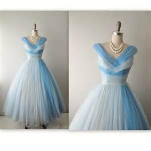 50 s chiffon dress vintage 1950 s two tone chiffon full prom dress