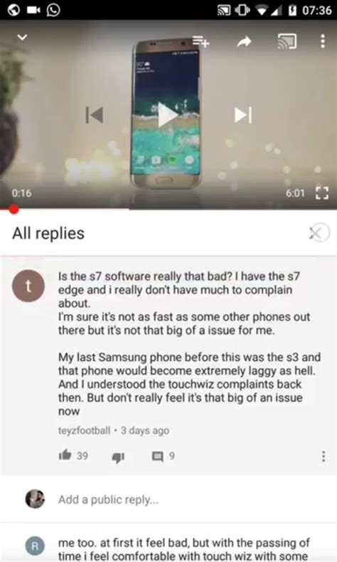 format youtube comments youtube comments on mobile get much needed facelift