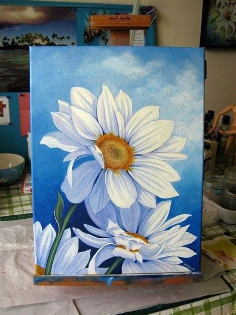 Painting With Flowers by Paintings Of Flowers By Serena Lewis Coming