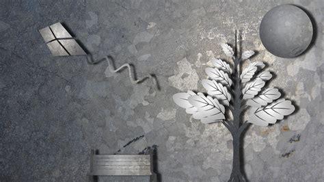 grey nature wallpaper abstract tree kite bench gray grey nature bench wallpaper