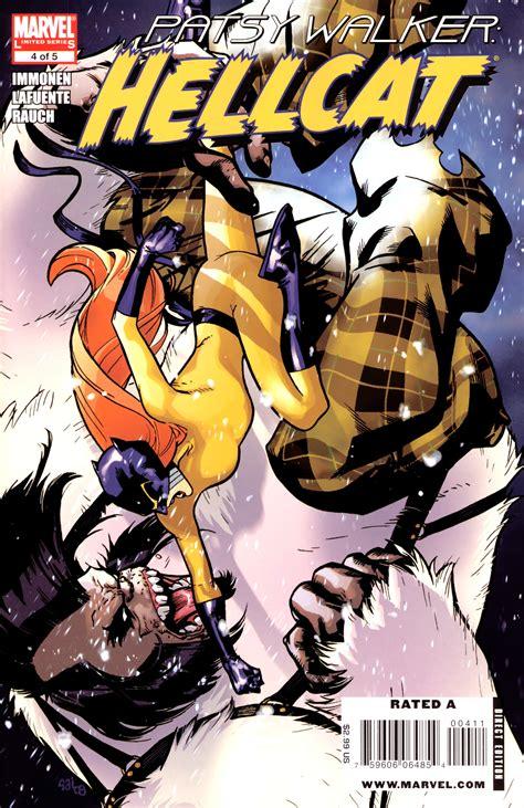 hellcat patsy walker hellstrom defenders member character spotlight hellcat comicattack