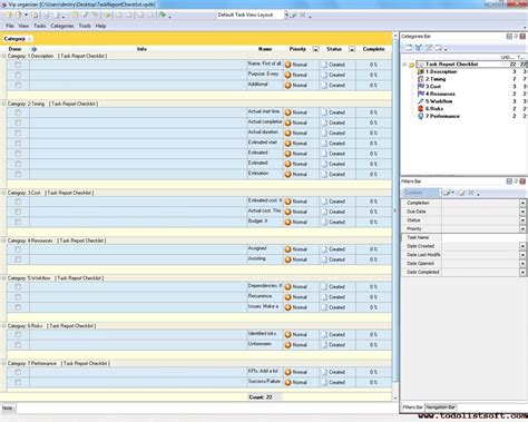 microsoft to do list template excel xls format free