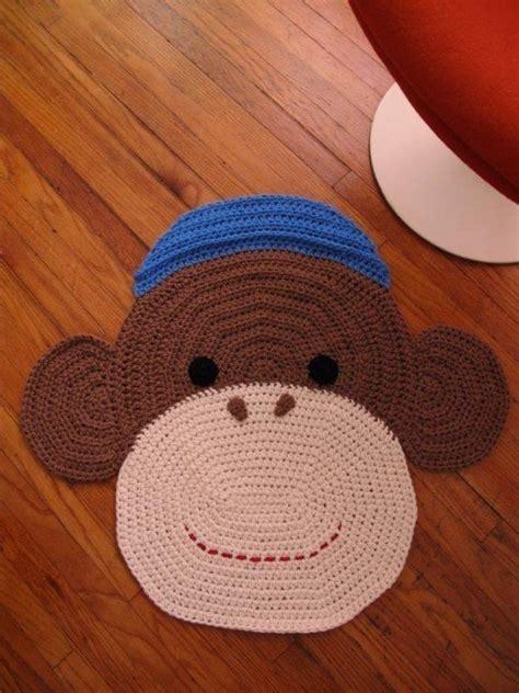 sock rug crochet sock monkey rug crochet sock monkeys sock monkeys and crochet