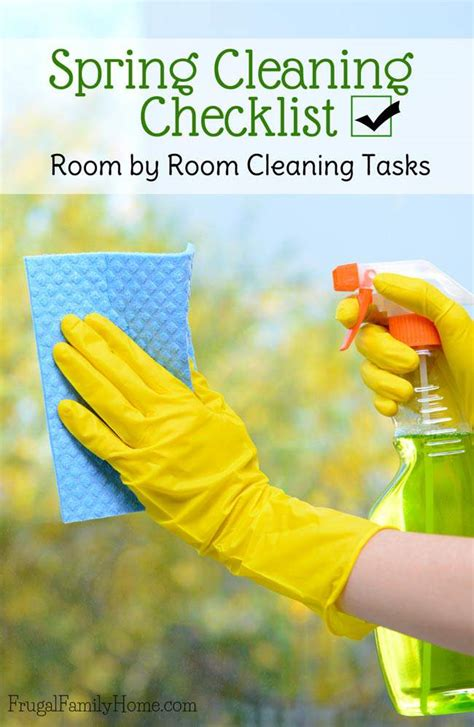 spring cleaning checklist room by room spring cleaning checklist room by room cleaning tasks