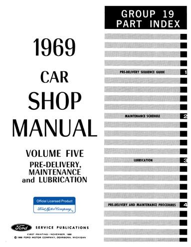 what is the best auto repair manual 1969 chevrolet camaro navigation system 1969 ford car shop manual all models 5 volumes