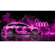 Audi R8 Pink Fire Car Abstract 2013 Hd Wallpapers Design