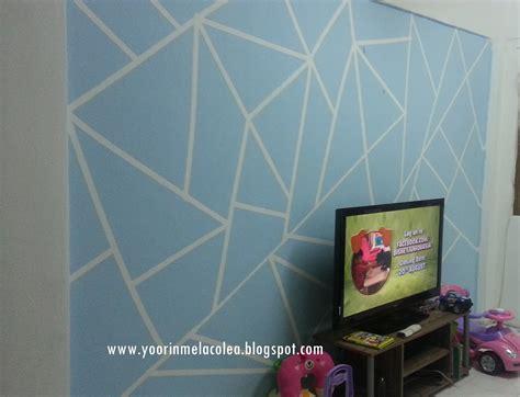corak cat dinding desainrumahidcom