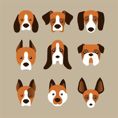 set of puppy vector www imgkid the image kid has it