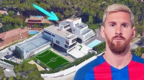 messis house messi s house in castelldefels hd google maps 2017 2018 amazing youtube