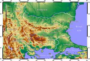 topography map of file topographic map of bulgaria png