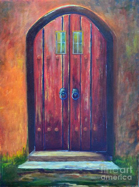 door painting by caldwell
