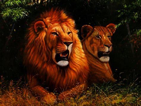 imagenes de paisajes y animales hermosos im 225 genes arte pinturas paisajes con animales