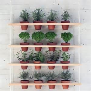 Diy Garden Shelf by Diy Hanging Garden Shelves For A Small Space Gardenista