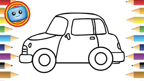 kid car drawing how to draw a car for simple drawing animation