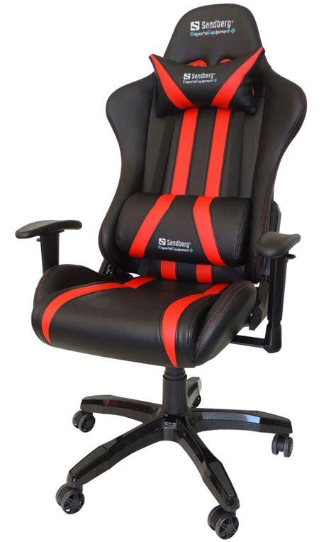 Pc Gaming Chair Gamerstol Gaming Stol Sandberg Commander K 248 B Billigt Her