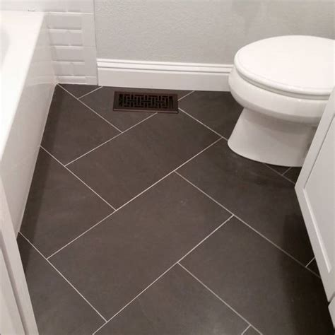 12x24 tile bathroom floor could use same tile but