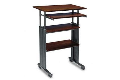 Computer Desk Standing Adjustable Height Computer Desk Standing 187 Woodworktips