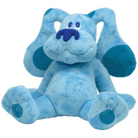 stuffedanimalscom rare ty beanie bables ty beanie buddies  blue blues clue dog