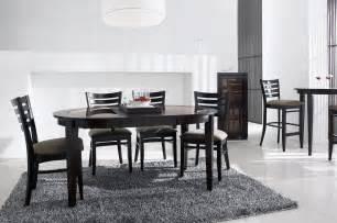 Table Wenge Verre Salle Manger