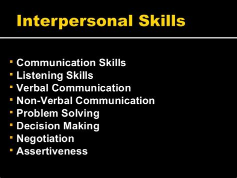 cus recruitment interpersonal skills