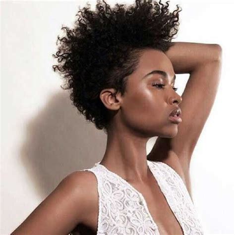 short cut for natural hair 26 natural hairstyles for black women styles weekly