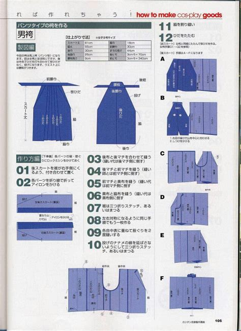 japanese hakama pattern hakama pattern šit 237 pinterest patterns and kimonos