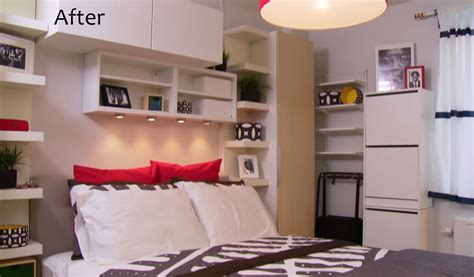 300 sq ft studio see ikea s storage maximizing makeover of a 300 sq ft