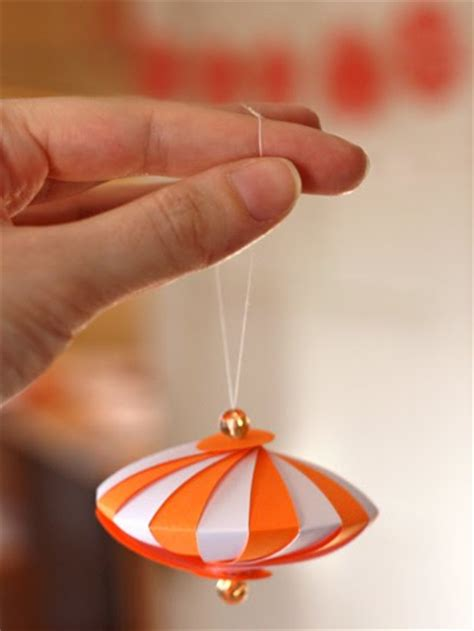 Paper Ornament Crafts - paper tree ornaments crafty lifestyle