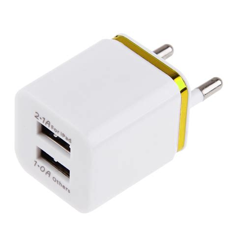 charger advance 2 usb 3 1a 3 1a dual 2ports usb eu wall charger power adapter for