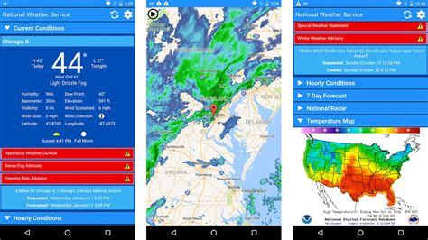 noaa weather app for android 15 best weather apps and weather widgets for android android authority
