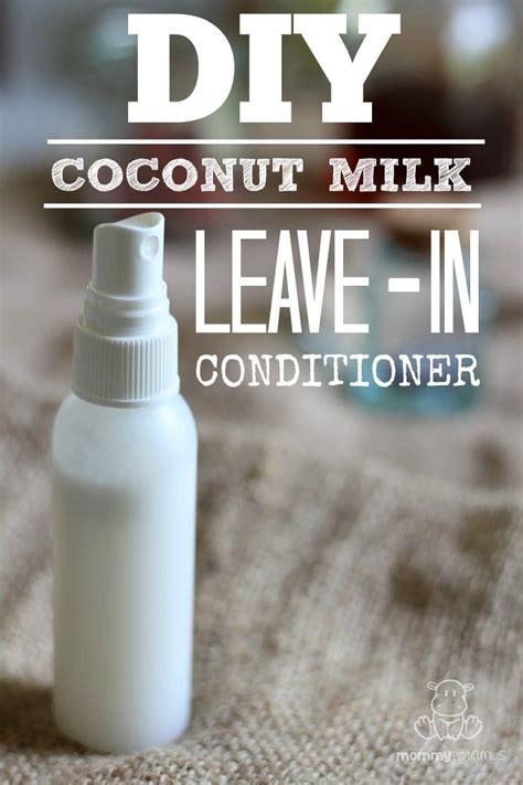 Handmade Conditioner - diy leave in conditioner
