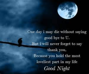 good night scraps sms latestsms
