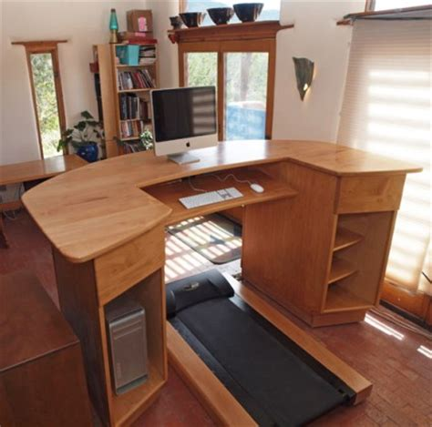 Home Office Standing Desk by Working Out At Work Canton Becker