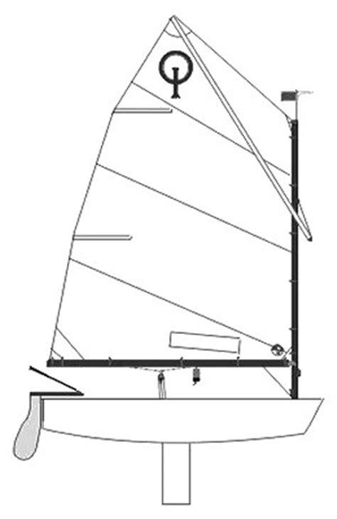 dinghy boat drawing optimist pr 233 competi 231 227 o cnbb