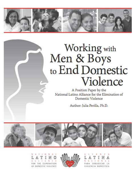 latino men work to end domestic violence