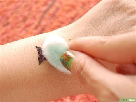 henna tattoo verwijderen tijdelijke tatoeages verwijderen wikihow