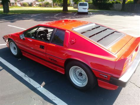 1984 lotus esprit turbo second owner since 1987 classic lotus esprit 1984 for sale