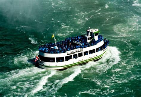 boat ride on niagara falls niagara falls with kids