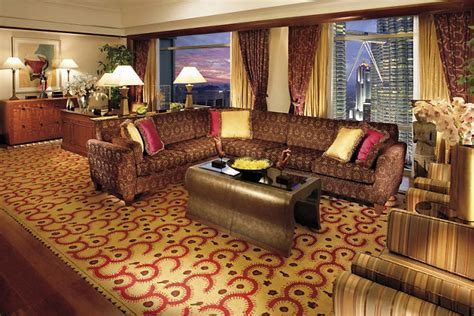 club living room クラブ スイート マンダリン オリエンタル ホテル クアラルンプール