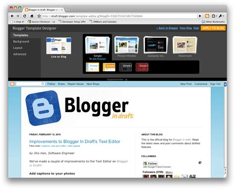 blogger com how to change your blog design with a professional theme