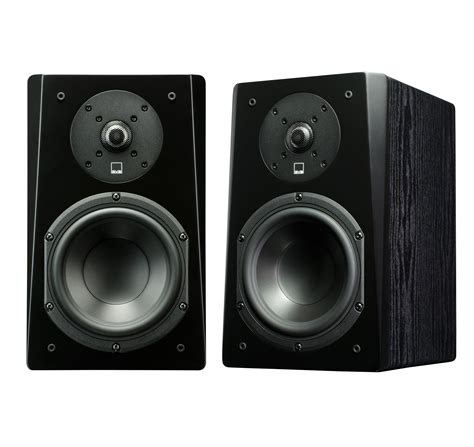 svs prime bookshelf speakers pr black ash ebay