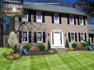 Landscape Ideas In Front Of House Front Yard Landscape Design Madecorative Landscapes Inc