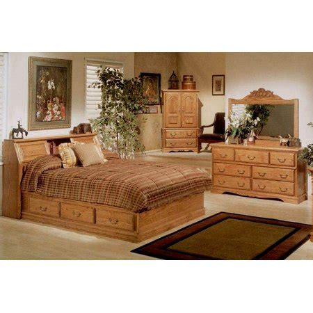 Walmart Bedroom Furniture by 4 Pc Pier Bookcase Headboard Bedroom Set Walmart