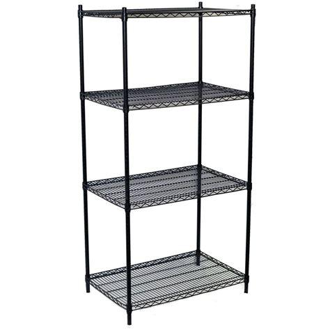 storage concepts 74 in h x 36 in w x 24 in d 4 shelf
