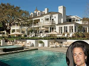 Actors Houses Rob Lowe From Celebrity Mega Mansions E News
