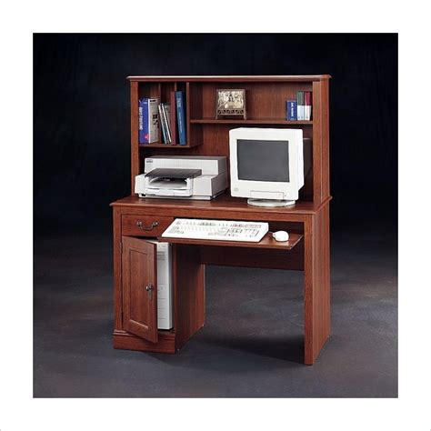 country computer desk camden country collection wood w hutch planked cherry