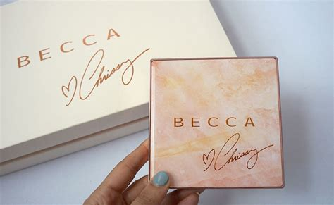 Becca X Chrissy Teigen Glow Palette Limited Edition becca x chrissy teigen glow palette sunlit bronzers pretty connected