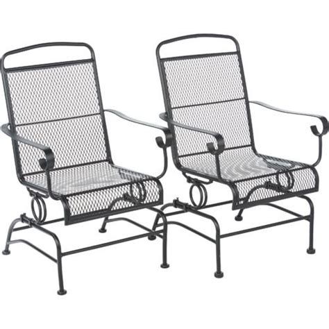 steel mesh patio chairs outdoor steel mesh patio rocking chair set mosaic https